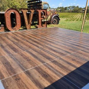 outdoor dance floor hire Perth