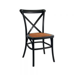 Black crossback chair hire Perth